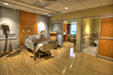 Patient room at The Louis and Phyllis Friedman Neurological Rehabilitation Center