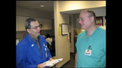 Conferring with Doctor