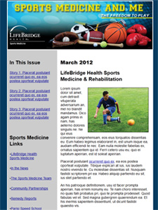 Sports Medicine and Me E-Newsletter