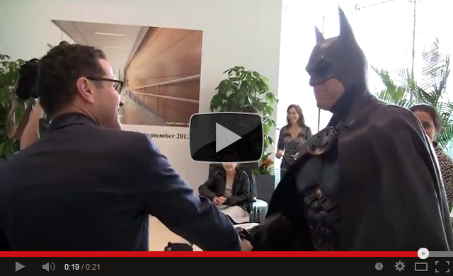Batman Visits the Children's Hospital
