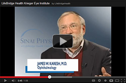 James W. Karesh, M.D., Ophthalmology, LifeBridge Health Krieger Eye Institute