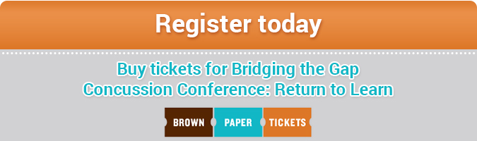 Buy tickets for Bridging the Gap Concussion Conference: Return to Learn