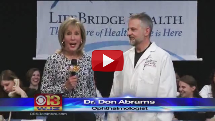 Don Abrams, M.D., discusses Signs & Symptoms of Cataracts, Glaucoma
