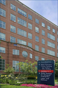 The Medical Office Building at Sinai Hospital; home to The Krieger Eye Institute