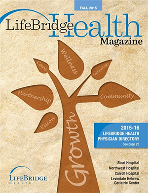 Fall 2015: LifeBridge Health Physician Directory