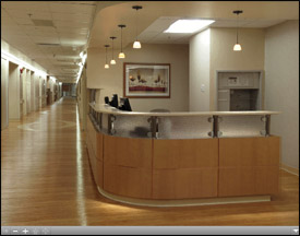 Neuroscience Center Main Entrance Virtual Tour