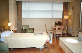 Hospice Unit Room