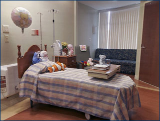 Birthplace At Sinai Patient Room (Angle 1)
