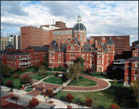 Arial Picture of Johns Hopkins Hospital