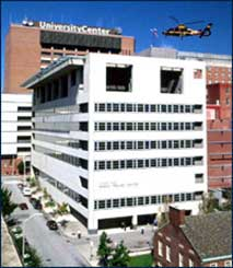 Image of the Trauma Building