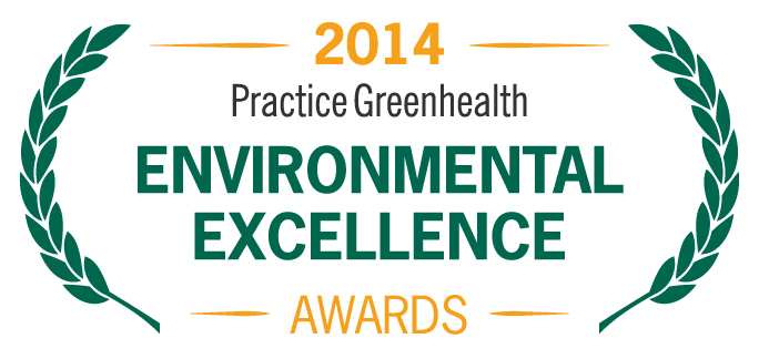 2014 Practice Greenhealth Environmental Excellence Award