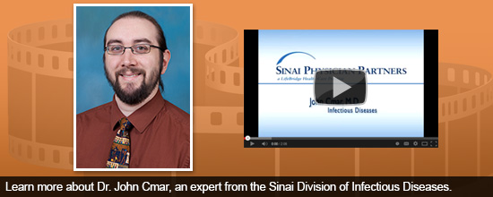 Learn more about Dr. John Cmar, an expert from the Sinai Division of Infectious Diseases.