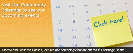 Visit the Community Calendar to see our upcoming events.