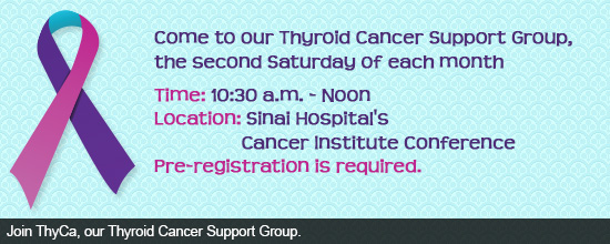 Thyroid Cancer Support Group