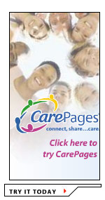 Our free CarePages service