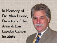 Alan M. Levine, M.D., director of the Alvin &amp; Lois Lapidus Cancer Institute 