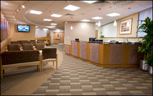 Schapiro Cardiac Diagnostic Center Waiting Area