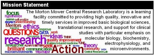 Mower Central Research Lab Mission Statement