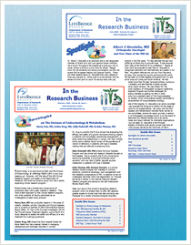 LifeBridge Health Research Newsletter 2009