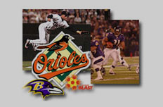 Ravens and Orioles