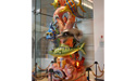 Dan Daddona from Daddona Studios Inc. created this 'Children of the Sea' sculpture which sits in the lobby.