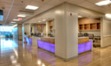 One to two Nurses Stations and view of the universal patient rooms