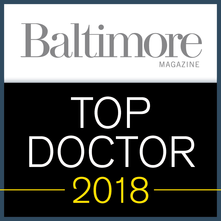 2018 Baltimore Top Doc Winner