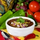 High Protein Chicken Taco Soup