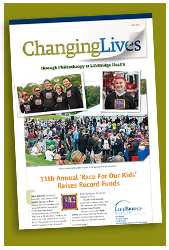 Changing Lives - Development Newsletter Fall 2015