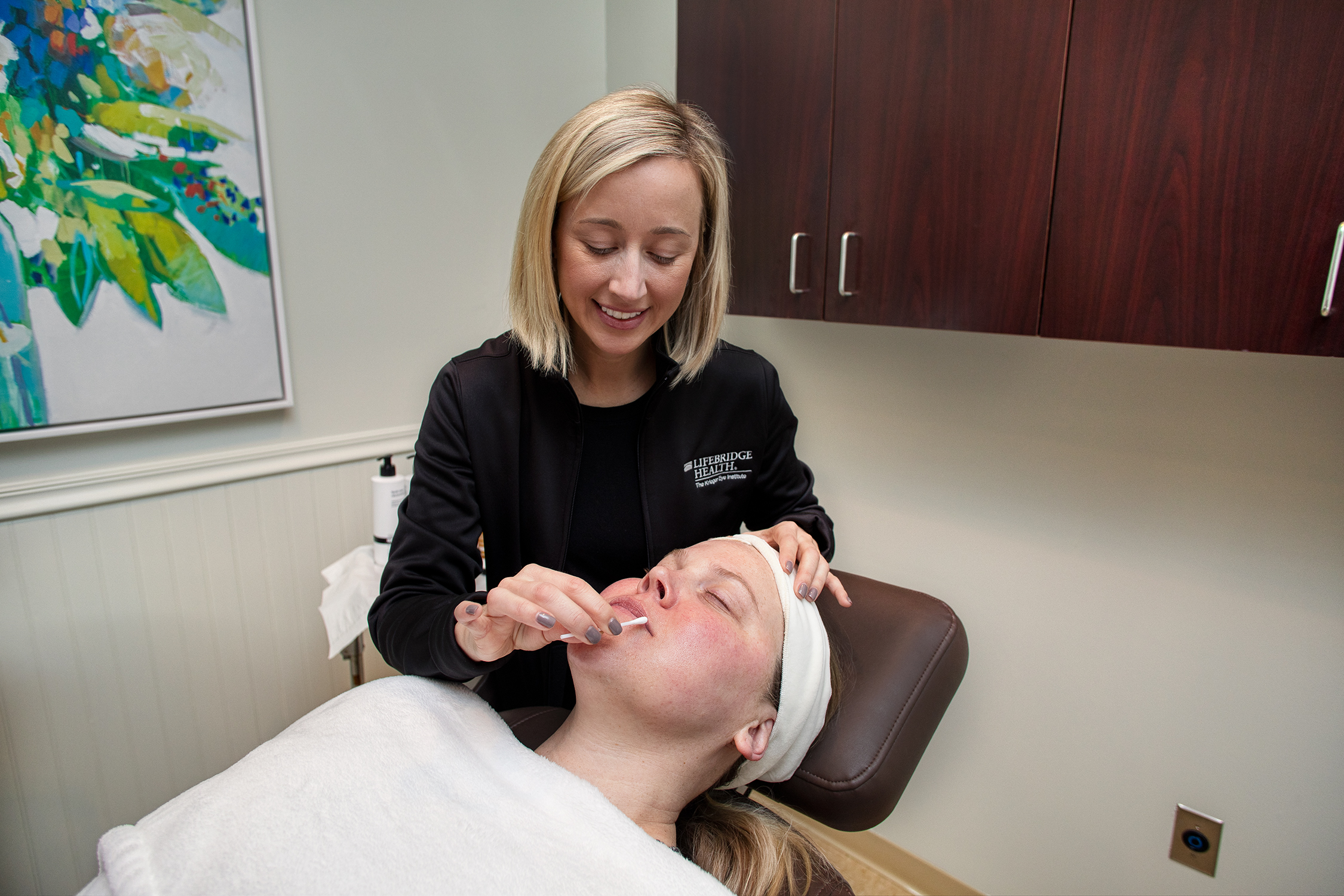 Krieger Eye MedSpa Treatment