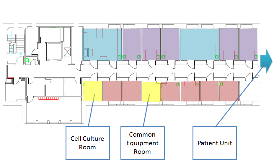BioIncubator Floor Plans