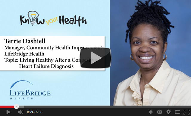Terrie Dashiell Discusses Living Healthy After a Congestive Heart Failure Diagnosis