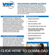Click here to view the Healthcare Careers Alliance Services brochure.