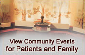 View Community Events for Patients and Family