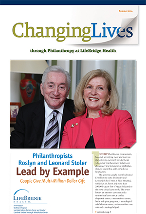 Changing Lives - Development Newsletter Summer 2014